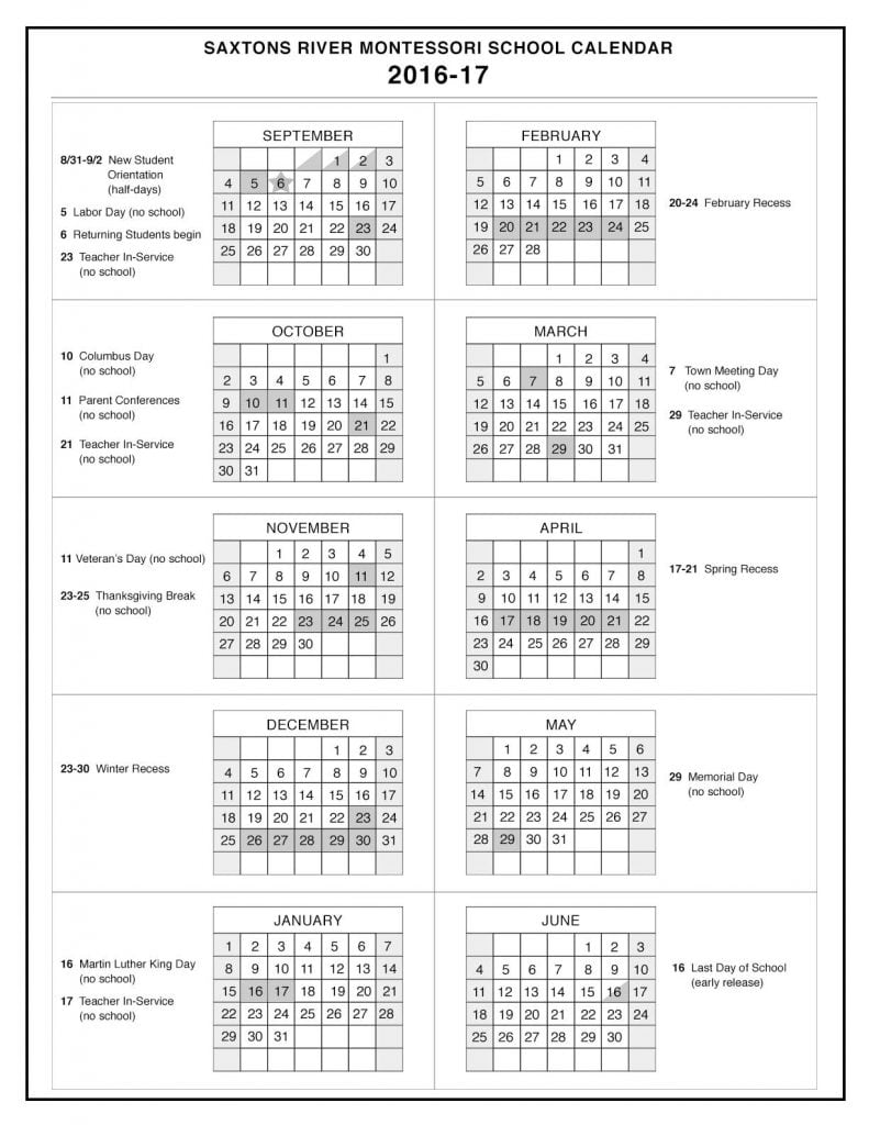 SRMS2016-17Calendar